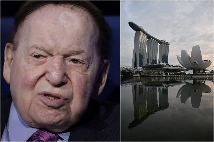 Mr Sheldon Adelson is one of the world's biggest gambling moguls, overseeing operations from the Las Vegas Strip to Macau and Singapore.
