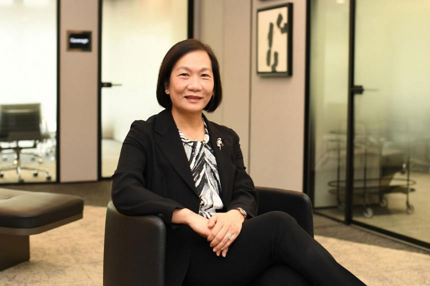 Ms Helen Wong started her banking career with OCBC in 1984 and was its first China desk manager.