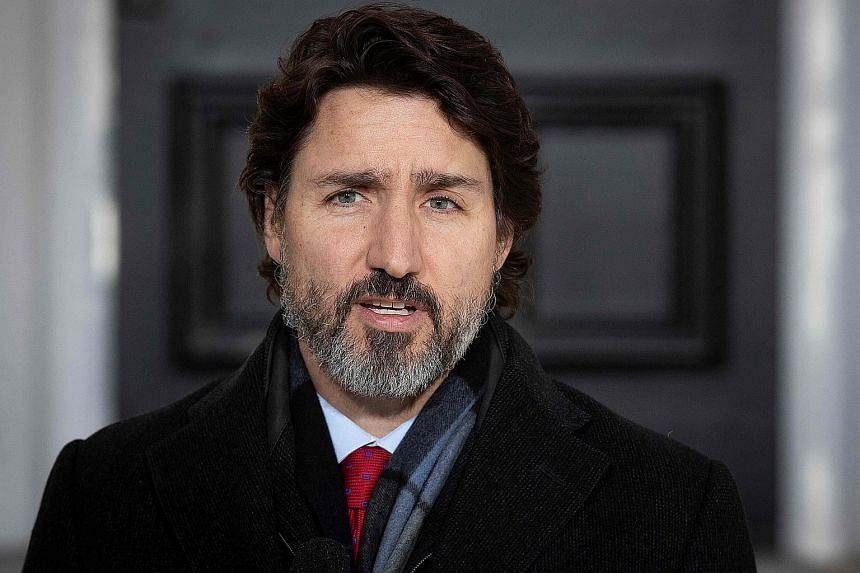 Democracy takes work, Trudeau says in condemning 'violent rioters' incited by Trump