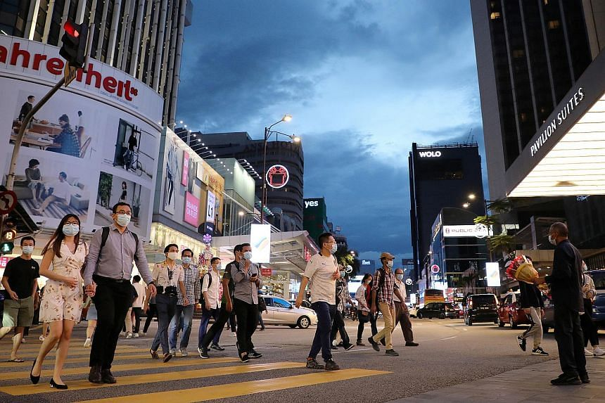 The Malaysian government has said it was considering imposing targeted lockdowns in some areas.