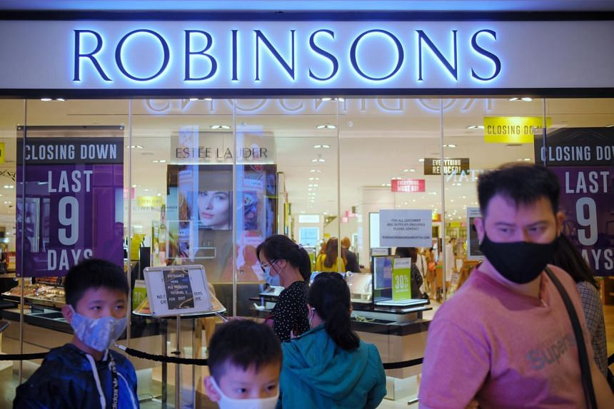 Robinsons' last outlet at Raffles City will close by Jan 10, 2021.
