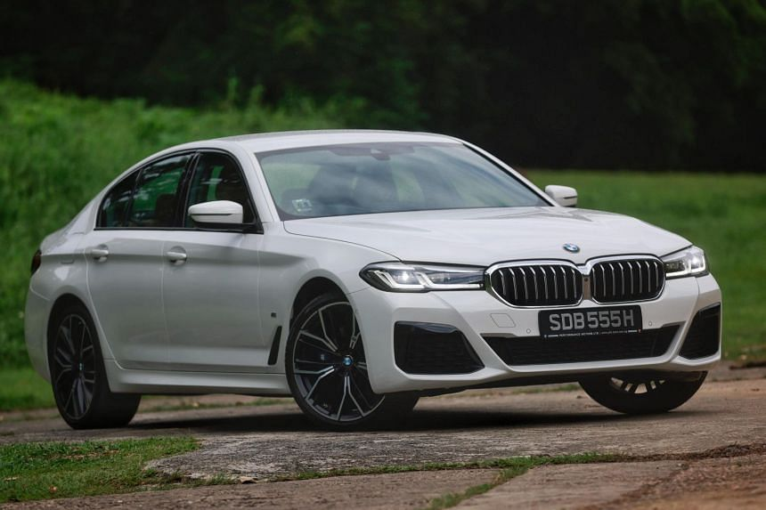 BMW's facelifted 530i is more powerful than the E200 and is priced a tad higher.