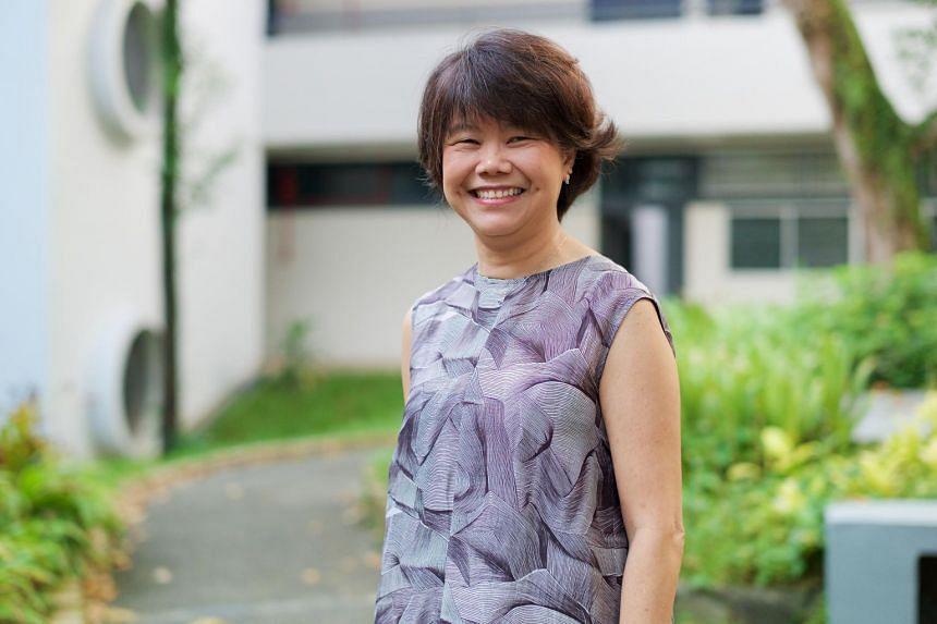 Mrs Wong-Cheang Mei Heng, principal of Eunoia Junior College.