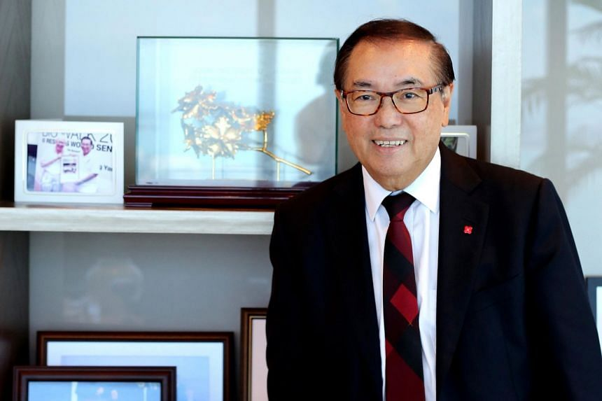 Mr Peter Seah Lim Huat is chairman of the board of DBS Group Holdings and its executive committee.