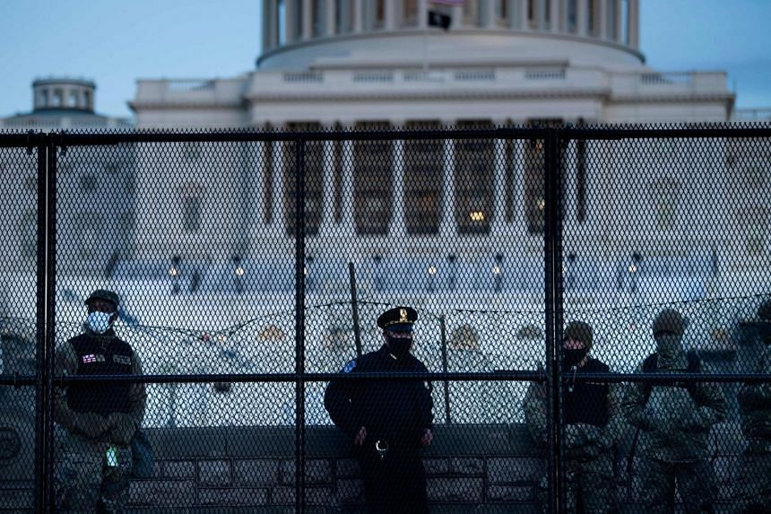 50 police officers were injured during the riot at the US Capitol on Jan 6.