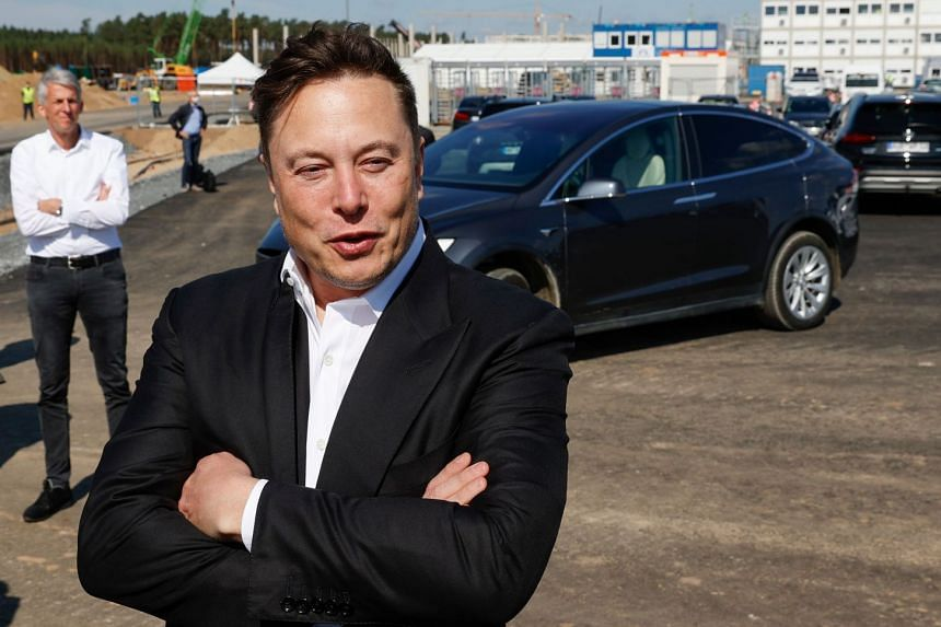 An unprecedented rally in Tesla's share price fuelled Mr Elon Musk's rise on the Bloomberg Billionaires Index.