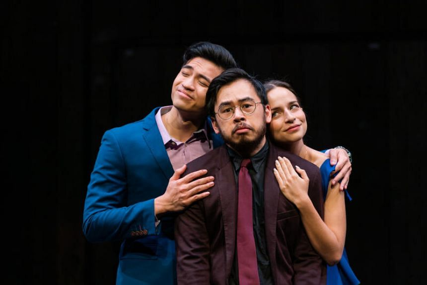 Three colleagues in British playwright Mike Bartlett's Bull.