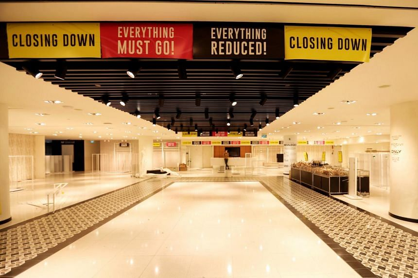 The early closure came as a surprise to many shoppers.