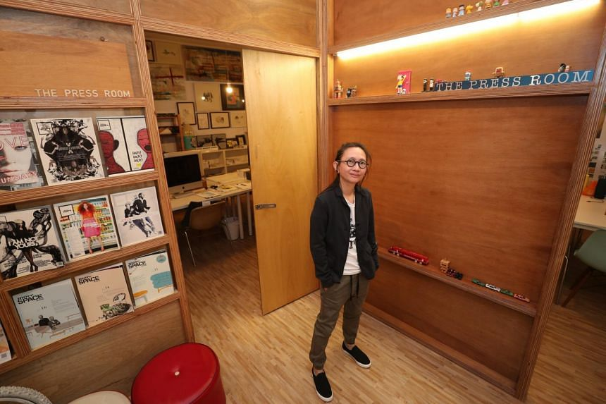 Ms Kelley Cheng, founder and creative director of publishing and design consultancy The Press Room, says she makes time to learn something new every day, whether it is picking up a new software or reading up on current affairs and pop culture.