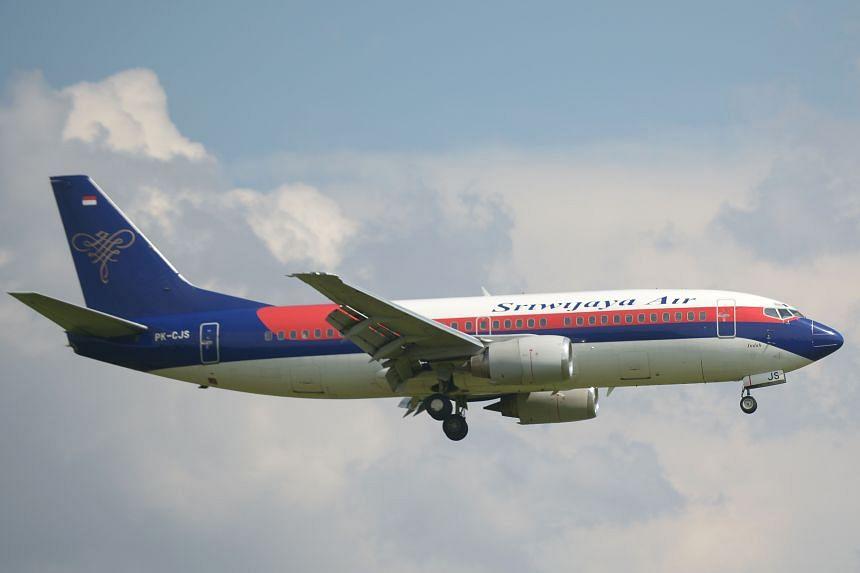 The Sriwijaya Air plane was en route to Pontianak in West Kalimantan province.