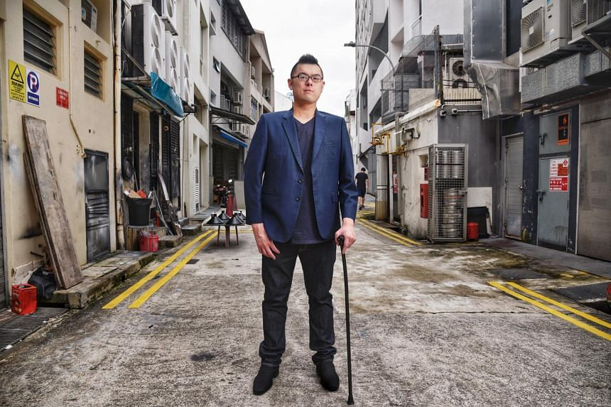 In August, 2017, Ivan Yeo was told he had Kennedy's disease, a rare muscular degeneration disorder.