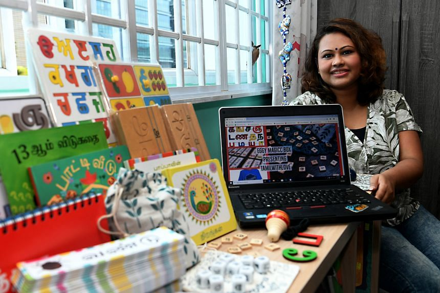 Deepa Asha started her Tamil learning resources business in May 2018.