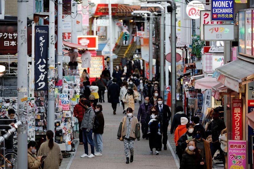 Tokyo reported 2,268 new daily coronavirus cases yesterday.
