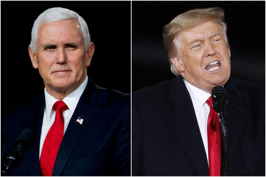 On Jan 6, US Vice-President Mike Pence defied Mr Donald Trump's call to overturn the election.