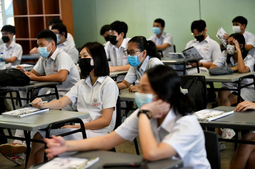 In Singapore, more students tend to opt for the A-level route.