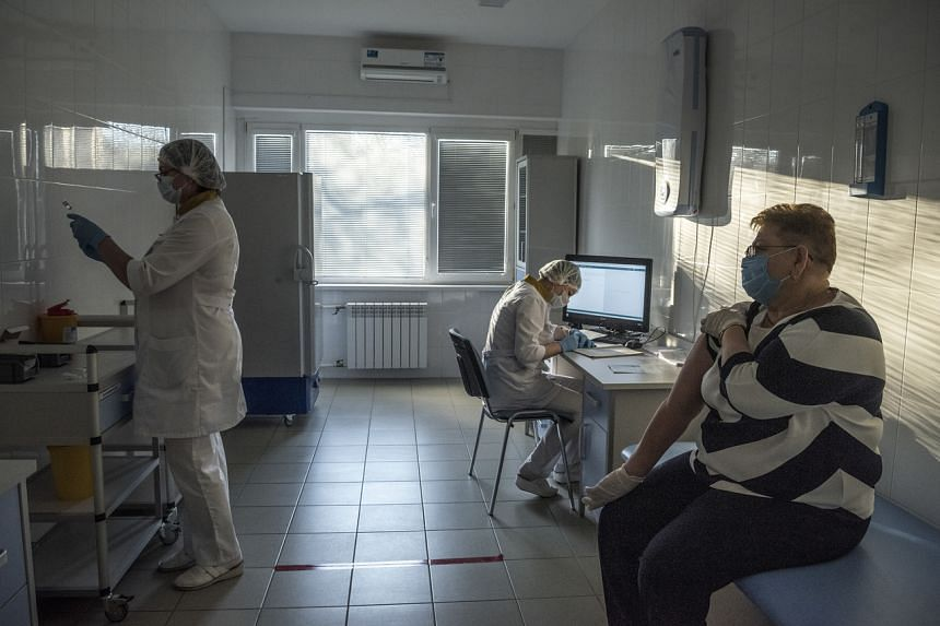 Ukraine has now also become a focal point in the geopolitics of coronavirus vaccines.