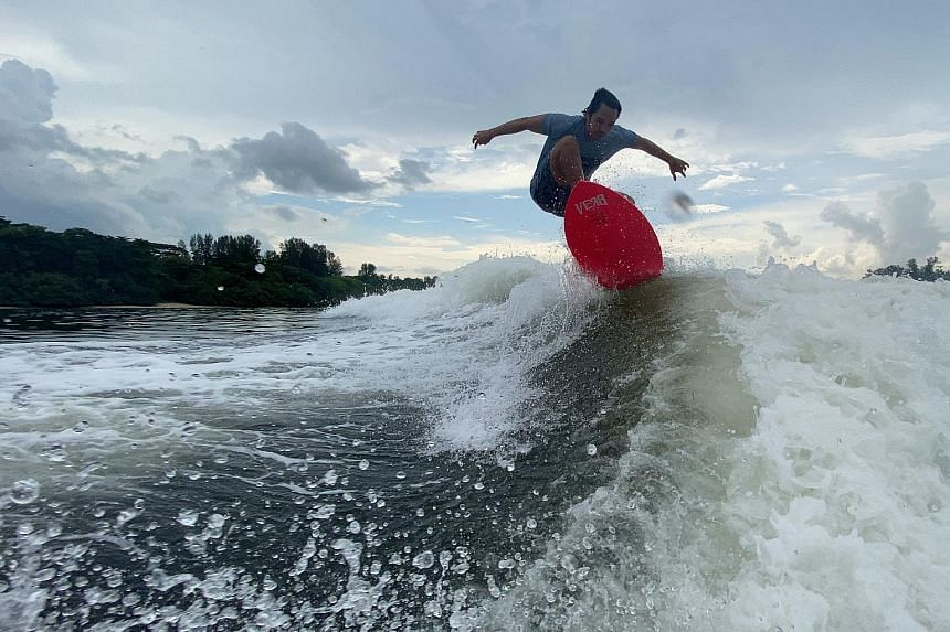 Wakesurfing school Wakemusters has doubled its monthly bookings since 2019 as more take to water sports.