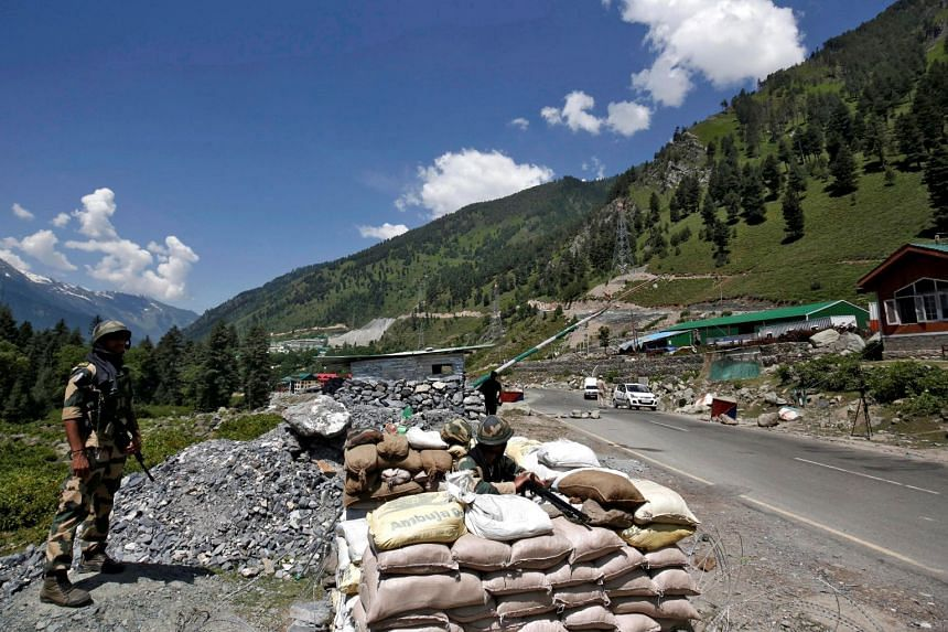 Indian and Chinese troops remain locked in a high-altitude confrontation along the border in Ladakh.
