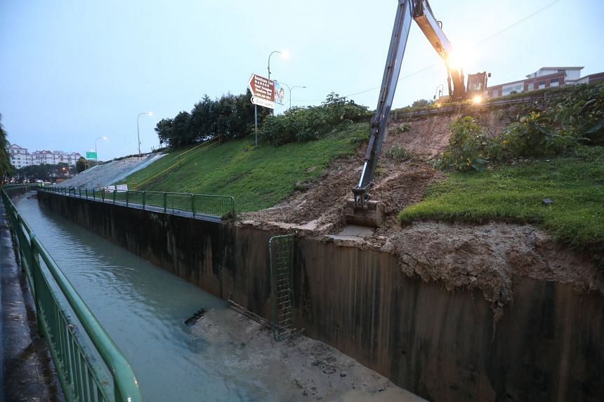 The latest landslip along the same slope was expected, and more could follow.