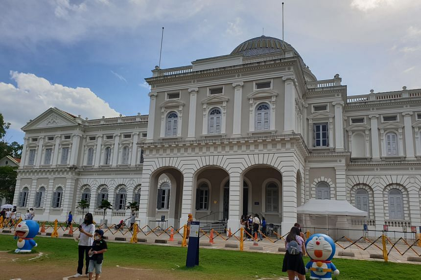 The National Museum of Singapore will also be launching SingapoRediscovers vouchers experiences.