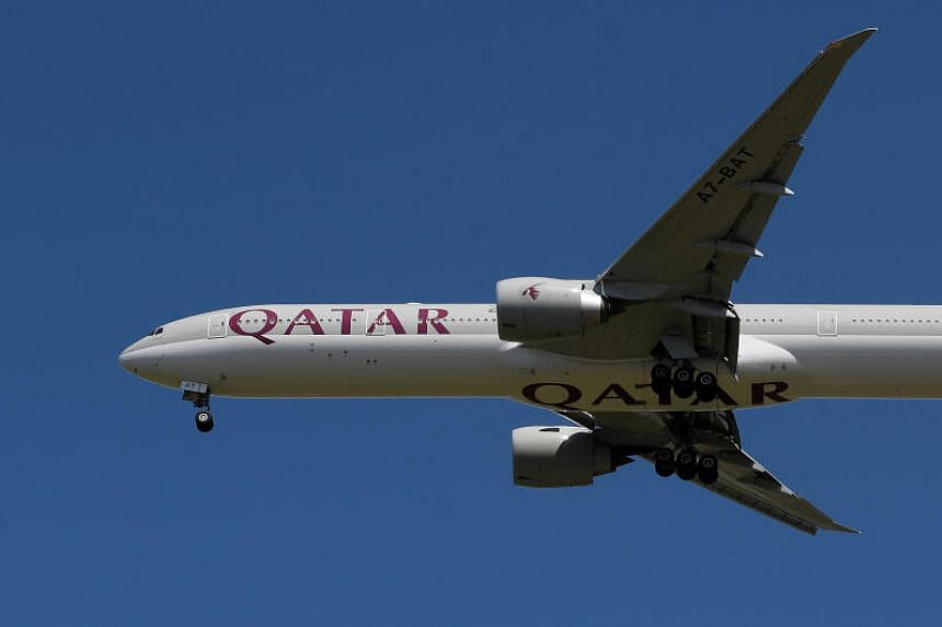 A Qatar Airways service to Riyadh will be the first commercial flight between Qatar and Saudi in three and a half years.