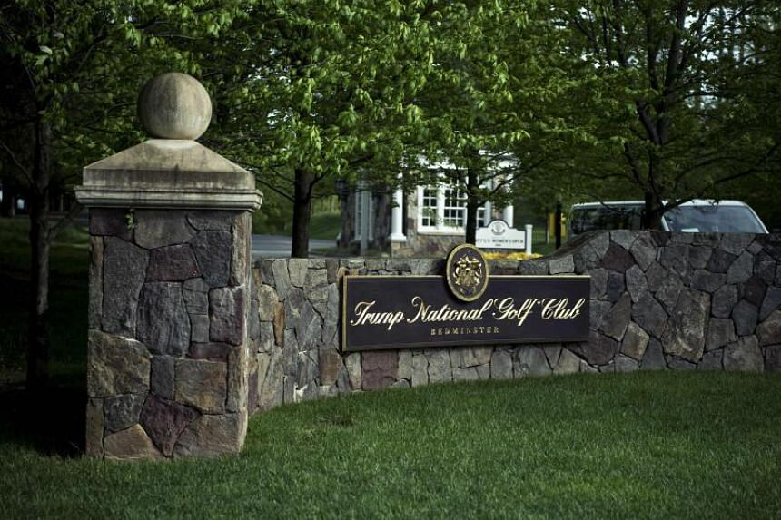 The Trump National Golf Club in Bedminster, New Jersey, was scheduled to hold the PGA Championship in May 2022.
