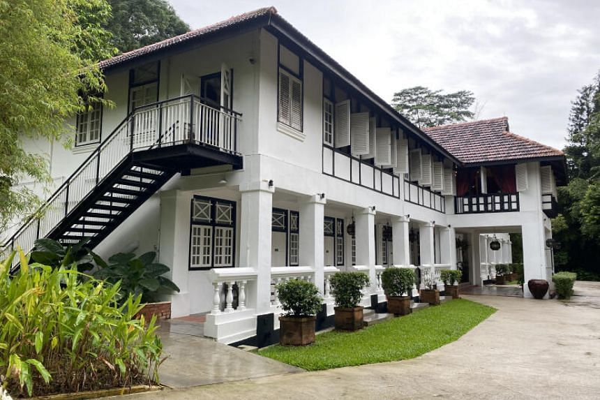 Villa Samadhi Singapore is a 20-room boutique hotel housed in 1920s black and white buildings in Labrador Nature Reserve.