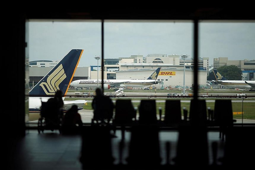 Singapore Airlines said yesterday that it expected its passenger levels by the end of March to be about 25 per cent of its pre-Covid-19 levels, and that it would fly to nearly 45 per cent of its pre-crisis destinations.