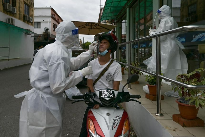 The tally is the biggest daily rise since the pandemic was first detected in Malaysia.