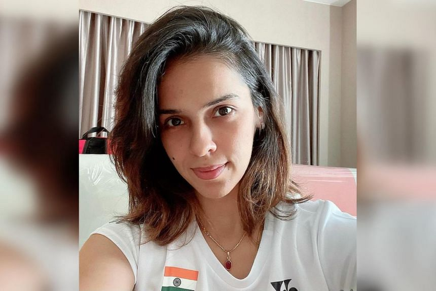 Saina Nehwal said she was informed by tournament officials to go to the hospital shortly before her first-round match.