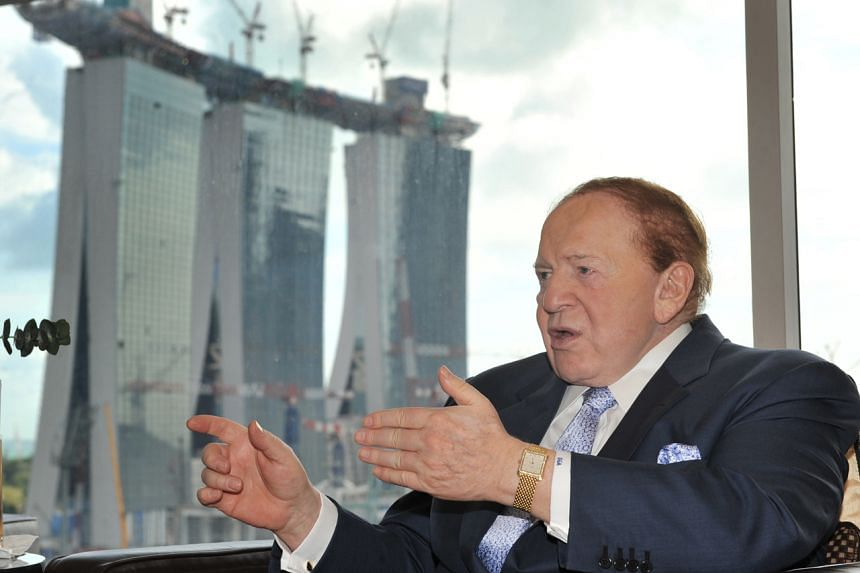Billionaire casino magnate Sheldon Adelson died from complications related to treatment for non-Hodgkin's lymphoma.