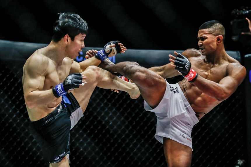 One Championship had staged the first live sports event in Singapore on Oct 9, 2020.