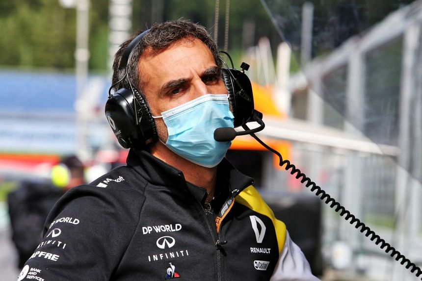 Mr Cyril Abiteboul oversaw the Renault team's return to F1 in 2016.