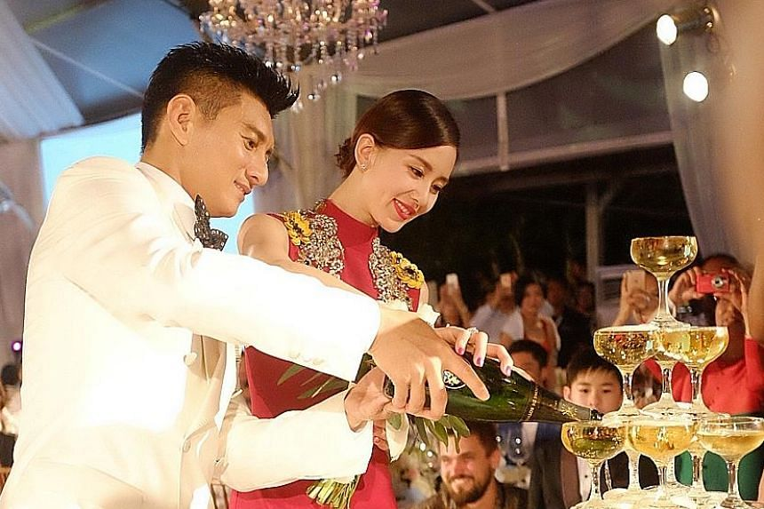Cecilia Liu and Nicky Wu