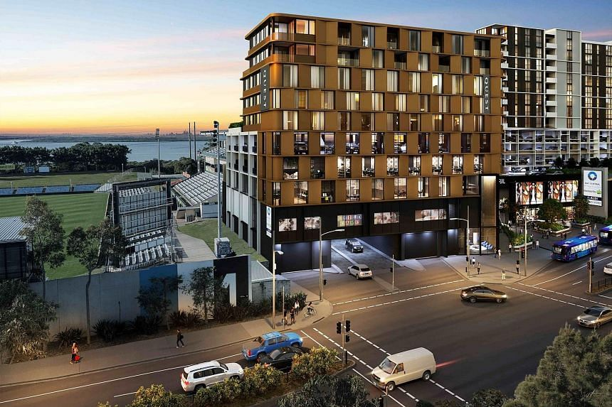 An artist's impression of Quest Woolooware Bay in Sydney. It is one of the 71 properties Ascott added globally last year. PHOTO: ASCOTT