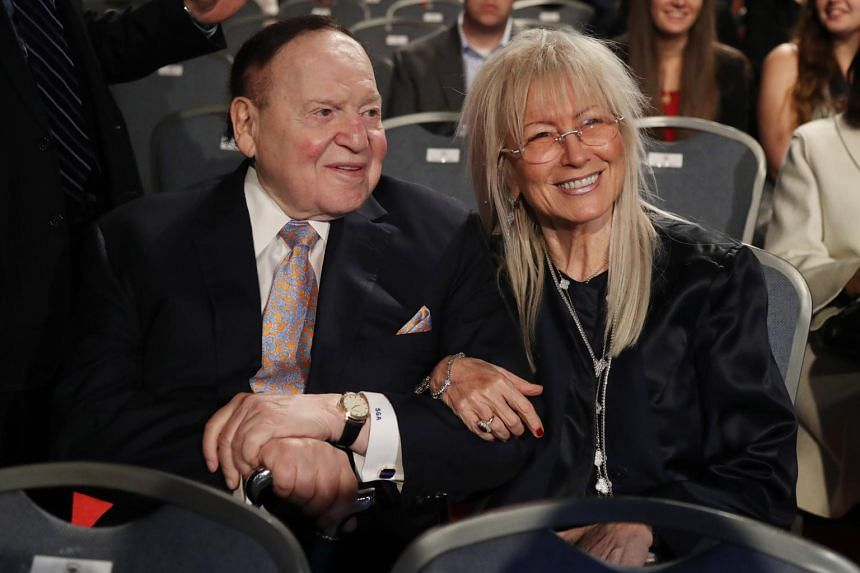 Sheldon Adelson and his wife have donated more than a half-billion dollars to GOP campaigns and super PACs since 2010.