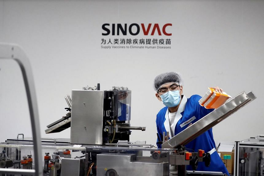 Sinovac and Indonesia's Bio Farma have been working together since mid-August.