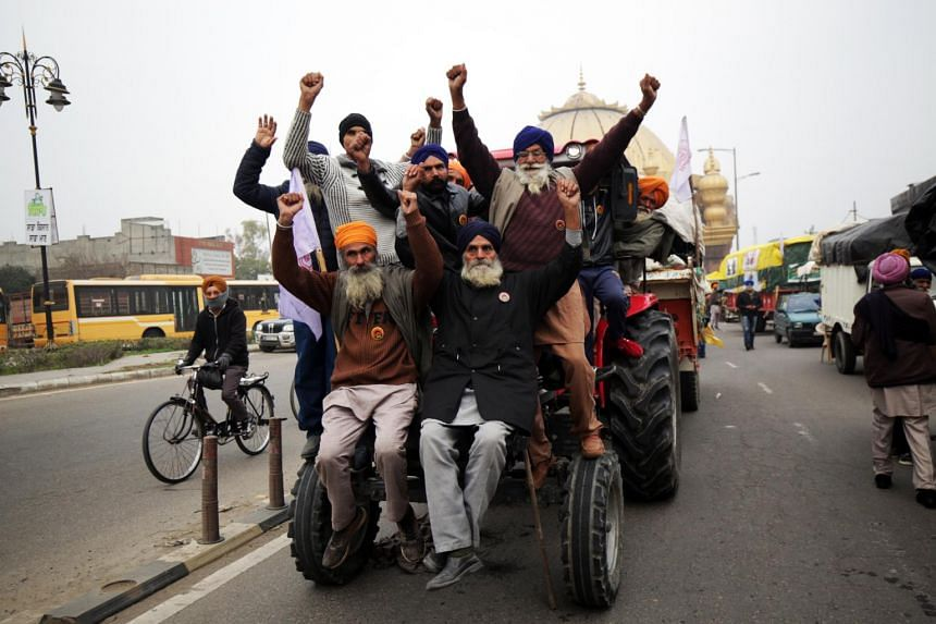 Plans to march to the capital city and agitations across about eight Indian states will continue.