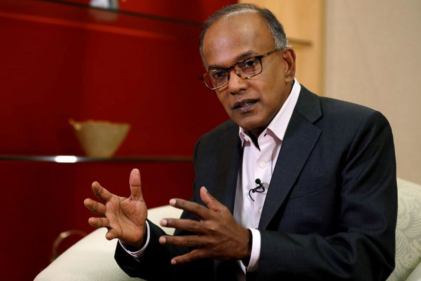 "Law Minister K. Shanmugam said a ""consensus"" is developing around the world that tackling fake news cannot be left to tech firms."