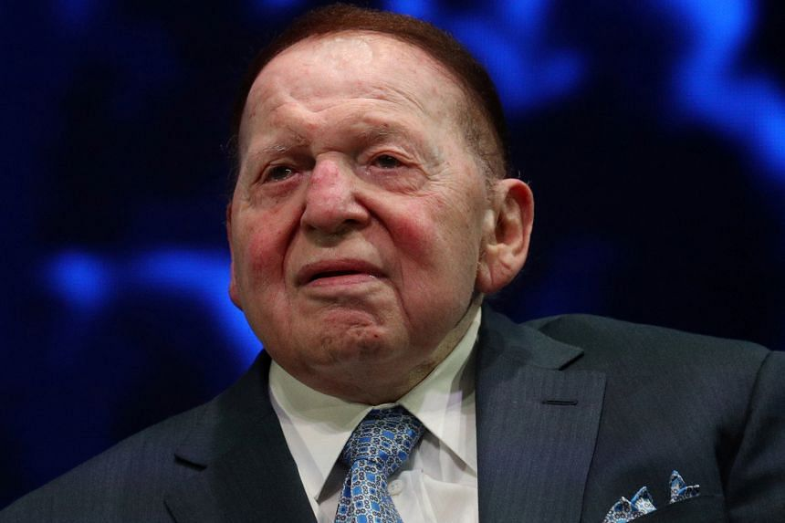 Billionaire Sheldon Adelson was one of America's heavyweight political spenders.