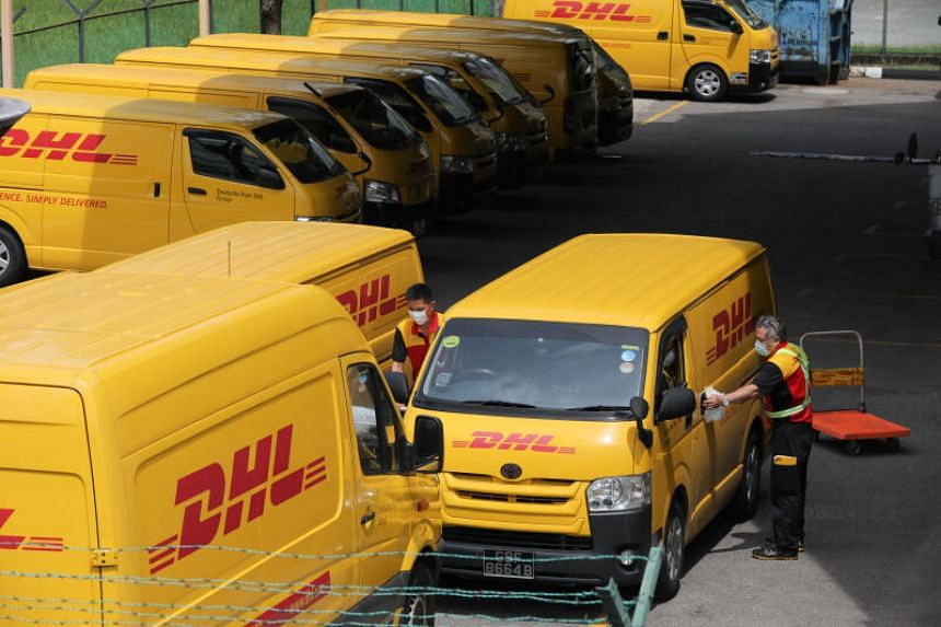 DHL benefited from a surge in home shopping spurred by the coronavirus crisis.