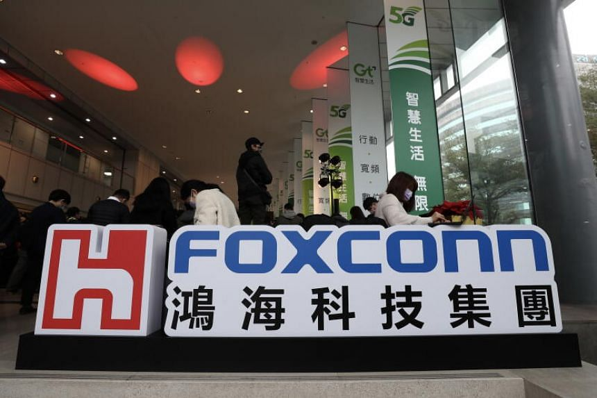 Foxconn Technology is reportedly expanding a plant to develop automotive metal parts.