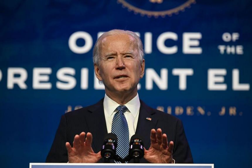 Mr Joe Biden can appoint acting heads of agencies while awaiting his nominees to be confirmed.