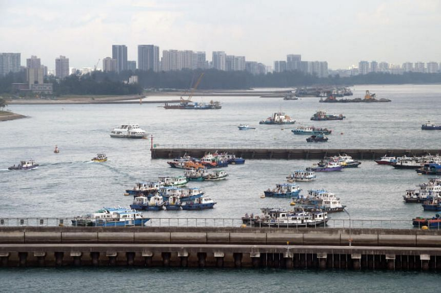The new SafeEntry@Sea platform will be introduced at piers such as Marina South Pier.