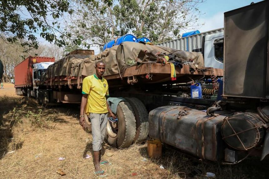 Food is scarce and prices have risen in the markets of Central African Republic's capital Bangui.
