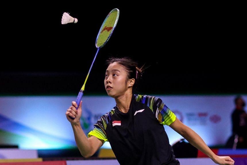 Yeo Jia Min's defeat meant that Singapore's shuttlers have all exited at the first round in Thailand.