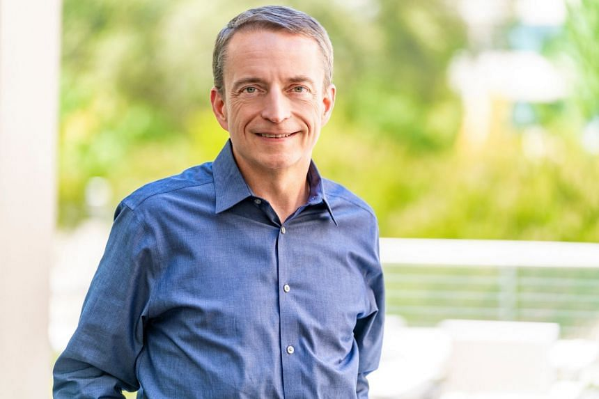 VMware's Pat Gelsinger poses in an undated photo.