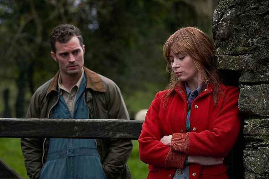 Jamie Dornan and Emily Blunt star in Wild Mountain Thyme.