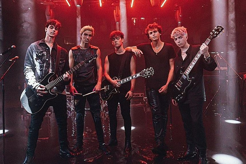 Why Don't We members (above, from far left) Corbyn Besson, Daniel Seavey, Zach Herron, Jonah Marais and Jack Avery upped their music game during an unexpectedly long break.