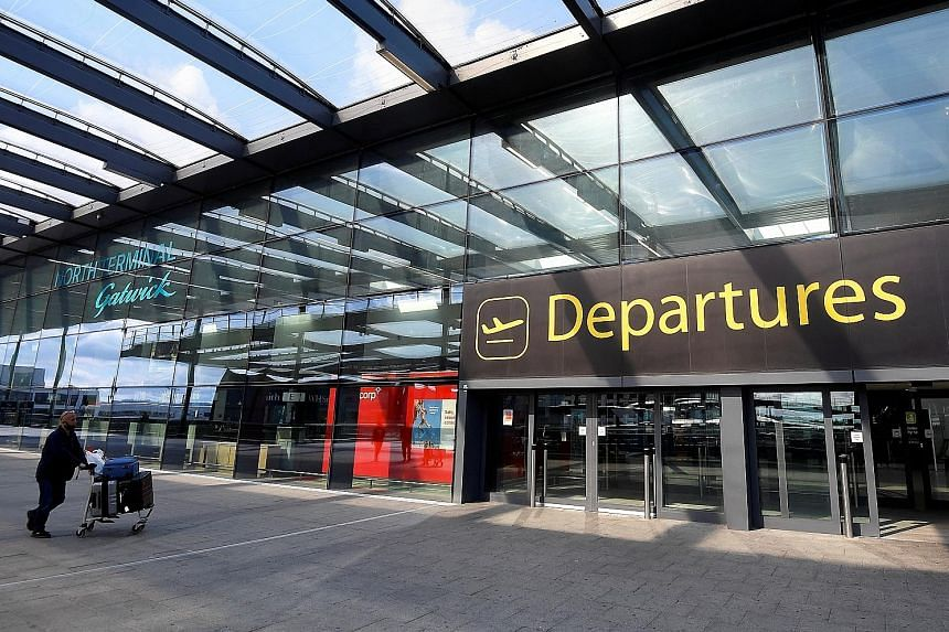 London's Gatwick Airport in July. Numbers show that the recovery in air travel, which began in late May to early June last year, had stalled by November. The outlook for the first quarter of this year looks dismal as well.